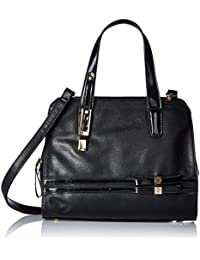 Gussaci Italy Women's Handbag (Black) (GUS223)