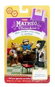 Hasbro - Jouet 1er âge - Histoire Mathéo L'Ourson Animé : Rendez-vous Chez Le Docteur