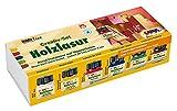 Hobby Line 78500 - Holzlasur Basisset, Pinsel, 6 x 20 ml