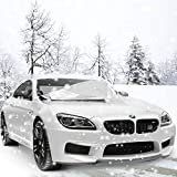 Scheibenabdeckung, Migimi Frontscheibe Abdeckung Anti-Frost Auto Windschutzscheibe Abnehmbare Frostabdeckung für Winter, Sommer Sonnenschutz Auto für SUV Minivan (160 x 118 cm)