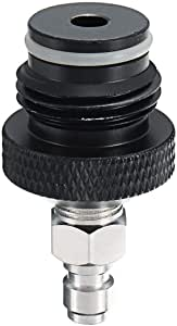 Imhere W U Adapter Asa Spule Fernschlauchleitung Mit Mal Quick Disconnect Stecker Für Paintball 1 8 Npt Küche Haushalt