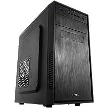 NOX NXFORTE - Caja de ordenador torre Micro ATX, color negro