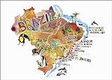 Posterlounge Stampa su PVC 120 x 90 cm: Colorful Brazil di Ikon Images/Mauritius Images
