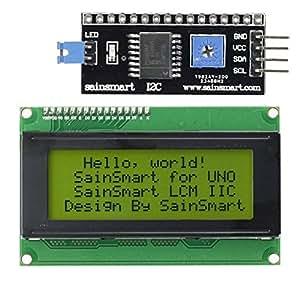 SainSmart Module LCD pour Arduino 20 x 4 * Noir sur Vert *