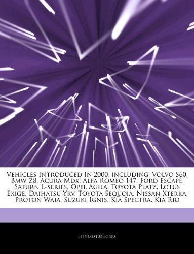 vehicles-introduced-in-2000-including-volvo-s60-bmw-z8-acura-mdx-alfa-romeo-147-ford-escape-saturn-l
