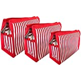 Sepal Set Of 3 Travel Packing Bag Stationery Luggage Baby Products Toiletry Undergarments Organizer Pouch