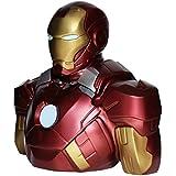Distribución Semic - Bbsm002 - Hucha - Banco Marvel Deluxe Busto - Iron Man Mark VII - Hucha Iron Man 22 cm
