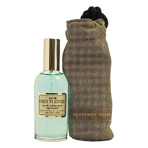 Eau De Grey Flannel By Geoffrey Beene For Men. Eau De Toilette Spray 4 Ounces