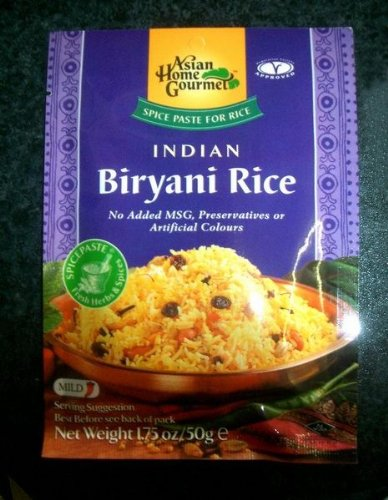 ASIAN HOME GOURMET INDIAN BIRYANI RICE 50 g