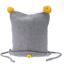 Domybest Cappellino Invernale Infantile alla Moda Cappello Carino Lavorato  a Maglia ad Alta Qualità per Neonati 87a1ca283b17