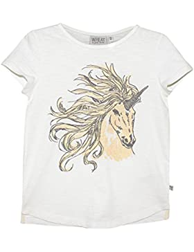 Wheat Mädchen T-Shirt T-shirt Cool Unicorn Bio-baumwolle