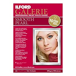 Ilford Galerie Smooth A 4 290 G Igspp11 Pearl 25+10sheets