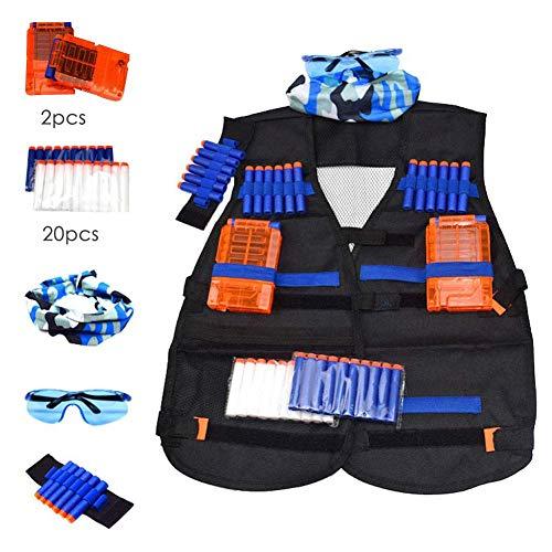 DRAULIC Outdoor Einsatzweste Bekleidung Ausrüstung Mit Mehreren Taschen Für Feld