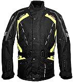 Roleff Racewear Kodra Jacke Gent RO 387, Schwarz/Grau/Neon, Größe XL