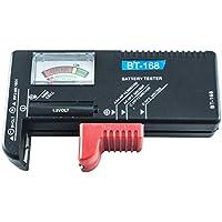 BES 23881 - Comprobador de batería de 1,5 a 9 V, Control de Carga