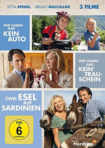 Bild von Wir haben gar kein Auto, Wir haben gar kein' Trauschein, Zwei Esel auf Sardinien (3 Filme) [2 DVDs]