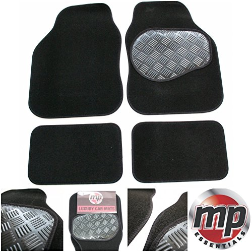 black-carpet-car-floor-mats-tailored-to-perfectly-fit-hyundai-sonata-98-04-rubber-heel-pad