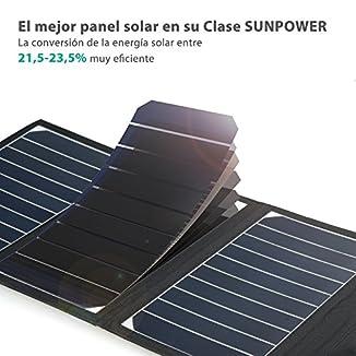 RAVPower Cargador de Panel Solar 16W 4