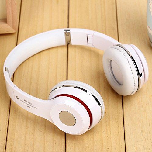 s460 écouteurs sans fil bluetooth 3.0 stéréo écouteurs oreillette pour téléphone mobile (blanc)