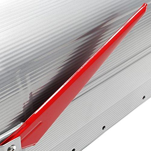 US Mailbox Briefkasten Amerikanisches Design silber mit passendem Standfuß - 5