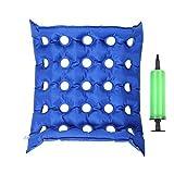 Thunderstar® Medical Rad Sessel Air Sitzkissen aufblasbar Matratze Anti bedsore verhindern Dekubitus (Waffle) ideal für langes Sitzen mit Pumpe FDA CE Zulassung 43,2x 43,2cm
