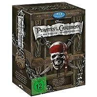 Pirates of the Caribbean - Die Piraten-Quadrologie  (5 Blu-rays) [Blu-ray]