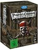 Pirates of the Caribbean - Die Piraten-Quadrologie  (5 Blu-rays) [Blu-ray]
