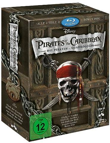 Pirates of the Caribbean - Die Piraten-Quadrologie (5 Blu-rays)