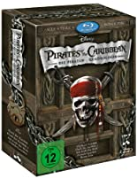 Pirates of the Caribbean - Die Piraten-Quadrologie  (5 Blu-rays) [Blu-ray] hier kaufen