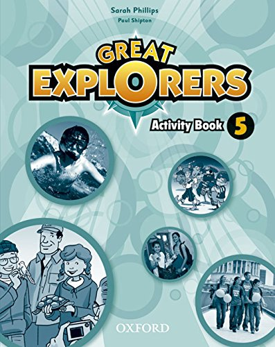 Great Explorers 5: Activity Book - 9780194507783 por Diane Phillips