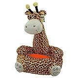 Sweety Toys 7028 MOMO Kinder Sitzkissen Sitzsack - Giraffe