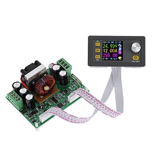 KKmoon LCD Digital Programmierbare Konstantspannung Aktuelle Step-Down Power Supply Modul DC 0-32.00V/0-12.00A¡ -