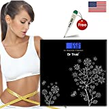 #5: Dr Trust Digital Scale Weighing Machine For Body Weight Blue & Dr Trust Digital Thermometer Free
