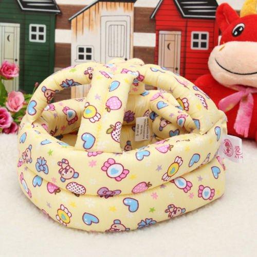 Wkid Baby Toddler Safety Helmet Headguard Protector Security Hat Walking Crawl Anti Bumps Adjustable Cap