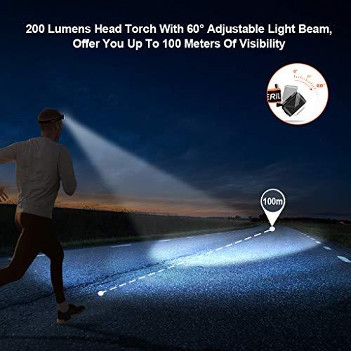 Zoom IMG-3 omeril lampada frontale led usb