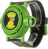 Ben 10 Children's Quartz Watch with Green Dial Digital Display and Multicolour Plastic Strap BEN4