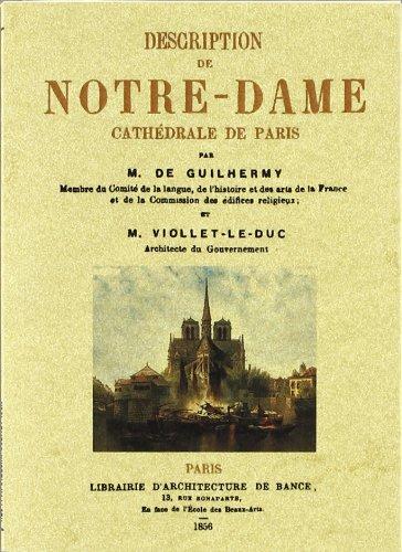 Description de Notre-Dame Cathedral de Paris