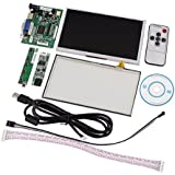 Tontec 7-Zoll-LCD-Screen-Display f�r Raspberry Pi TFT Monitor AT070TN92 mit Touch-Screen-Kit HDMI VGA-Eingang Treiberplatine (7 inch touch screen)