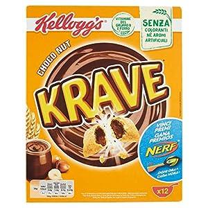 Kellogg's Krave Cereali al Cioccolato, Vitamine B, Ferro - 375 gr 2 spesavip