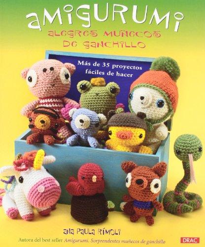 Portada del libro Amigurumi. Alegres muñecos de ganchillo (Muñeco Ganchillo Amigurumi)