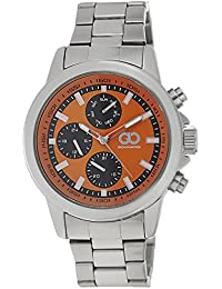 Gio Collection Analog Orange Dial Men's Watch - AD-0059-A