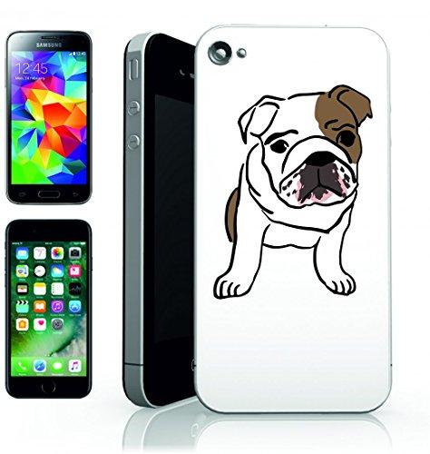 Smartphone Case Bull di lingua inglese Great Dane Baby Mammifero abbastanza cucciolo di cane di razza pura della casa di animali animali di albero genealogico della Famiglia per Apple Iphone 4/4S, 5