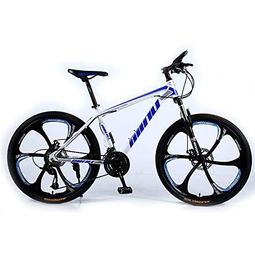 Lisi Vélo de Montagne Adulte 26 Pouces 30 Vitesses Une Roue Tout-Terrain à Vitesse Variable absorbeur de Choc Hommes et Femmes vélo vélo