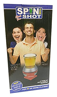 Adult's Spin The Shot Drinking/ Alcohol Game