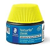 Staedtler Refill station, Flacon de recharge pour surligneurs jaune fluo, Compatible avec le Textsurfer Classic 364, Flacon de 30 ml, 488 64-1