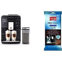 Melitta Caffeo Barista TS Smart F850-102, Kaffeevollautomat mit Milchbehälter, Schwarz & 192830 Filterpatrone für…
