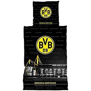 BVB-Bettwäsche mit SIGNAL IDUNA PARK-Motiv one size