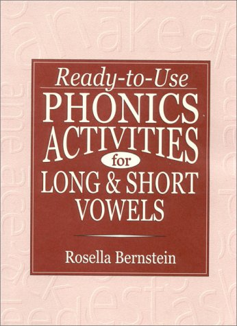 Ready-To-Use Phonics Activities for Long and Short Vowels