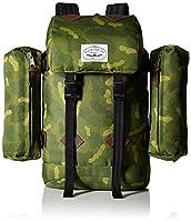 Poler Stuff Bag Retro buttonhole Green Green Camo Size:50 x 40 x 6 cm, 18 Liter