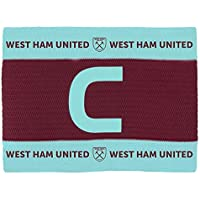 West Ham United FC - Fascia da Capitano Unisex Red/Blue Taglia Unica